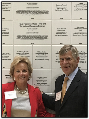 WINGS OF HOPE founder Maureen Shul and Chancellor Donald Elliman
