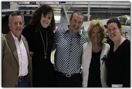 L-R: Rex Lucas, Shelley Hamilton-Bruer, Greg Miller, Maureen Shul and Jennifer Havercroft