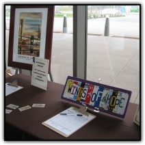 Aviation-oriented silent auction items
