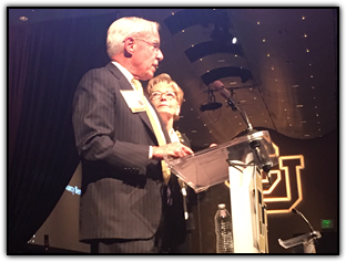 CU President Bruce and Marcy Benson