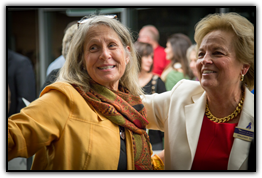 Nancy Spillane and Maureen Shul