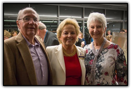 Jack Baker, Maureen Shul and Gayle Baker