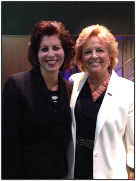 CH2M CEO Jacque Hinman and WINGS OF HOPE founder Maureen Shul
