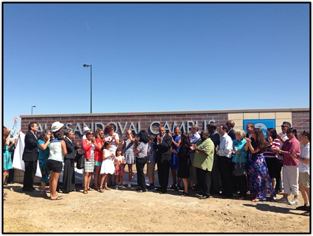 Unveiling of the Paul Sandoval Campus