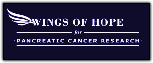 Wings of Hope For Pancreatic Cancer Research Logo