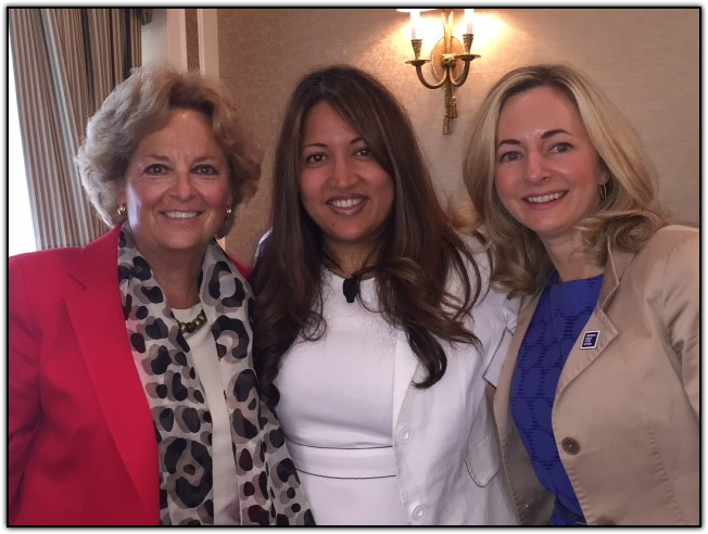 Maureen Shul (Wings of Hope), Ruma Bose (President of the Chobani Foundation and author of Mother Teresa, CEO) and Julie Fleshman (CEO of Pancreatic Cancer Action Network)