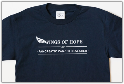 Wings of Hope for Pancreatic Cancer Research T-Shirt